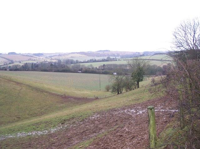 Below New Farm, near Coberley