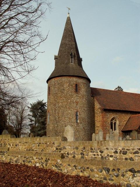 St. Mary's church, Broomfield, Essex