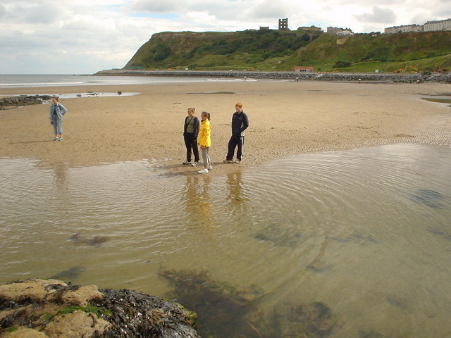 Scarborough castle and headland
