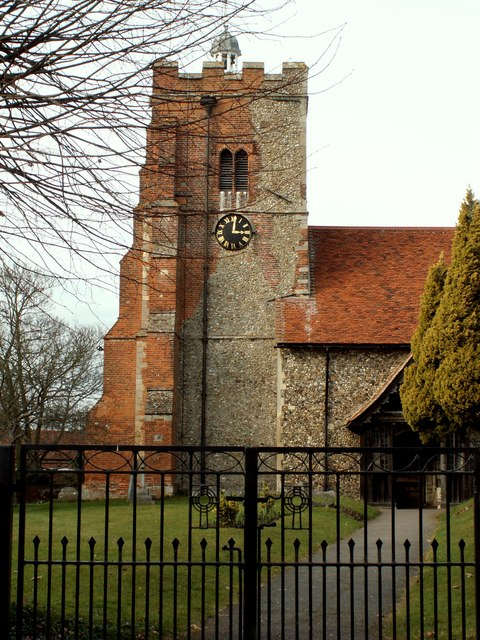 St. Martin's church, Little Waltham, Essex