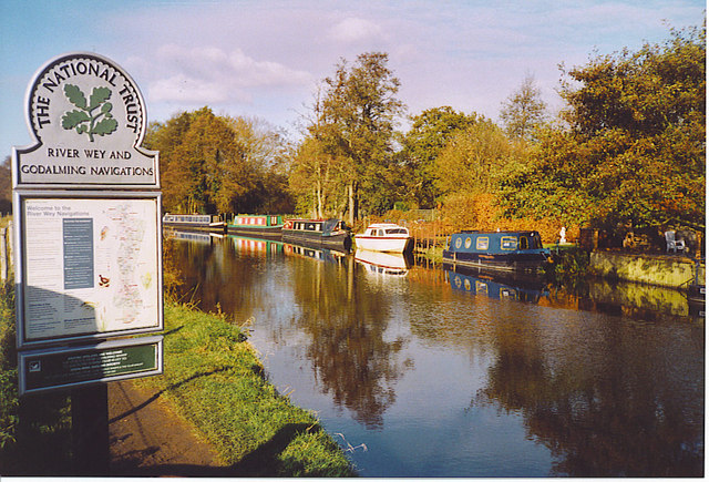 The River Wey, Shalford.
