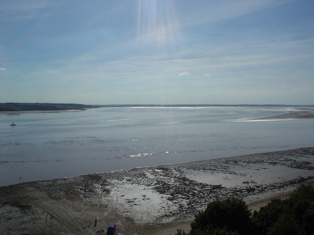 River Humber west from Humber Bridge