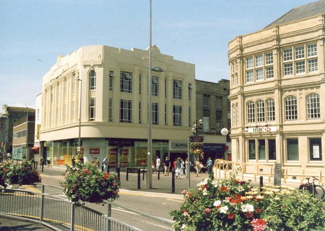 Art Deco Burton Shop, Regent Street, Weston-super-Mare