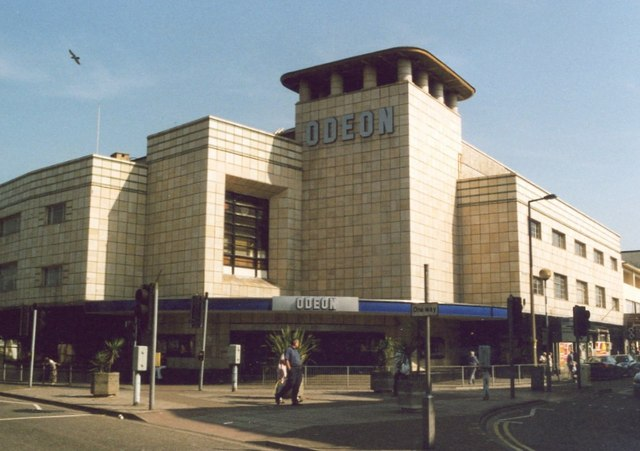 Art Deco Odeon Cinema, Walliscote Road, Weston-Super-Mare
