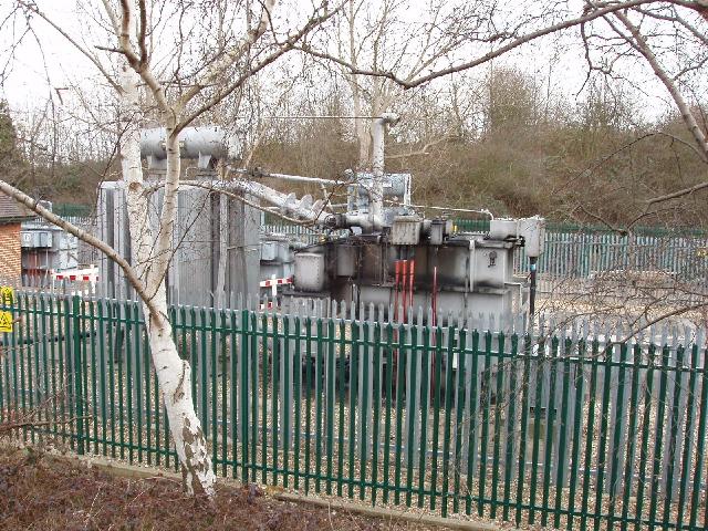 Primary electricity substation, Borehamwood