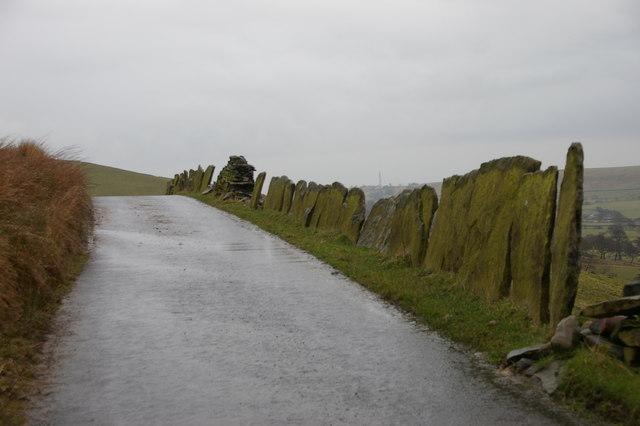 Stone Slab Wall