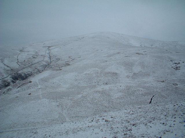 Tewsgill Hill and Regengill Burn