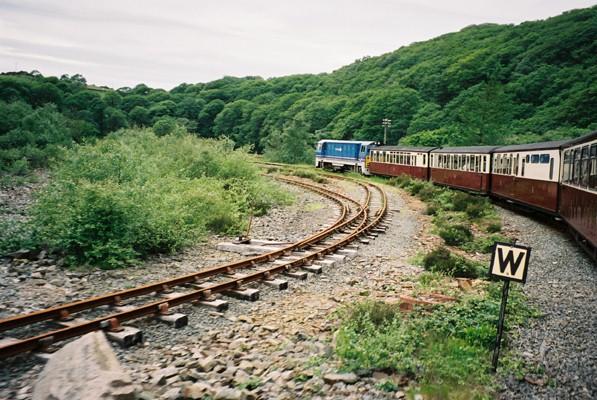 Rheilffordd Ffestiniog Railway Line Spiral