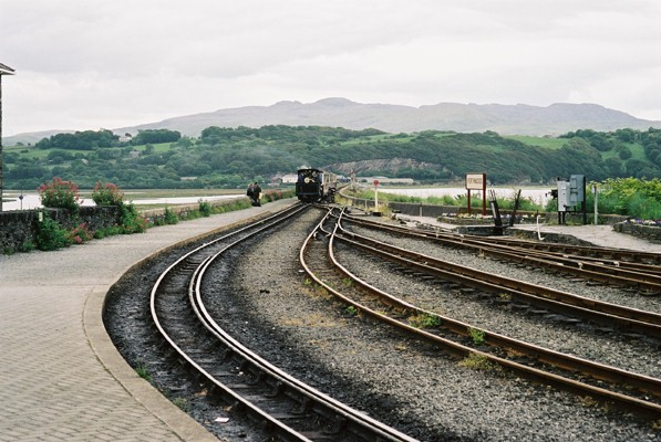 "Porthmadog - The ""Cob"" Embankment"