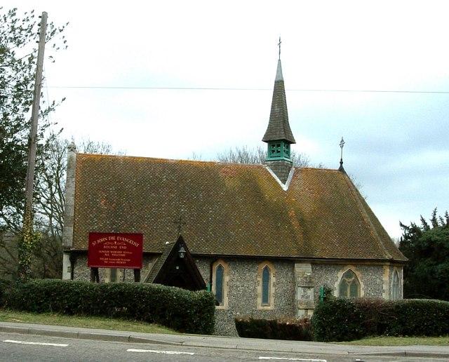 St. John the Evangelist, Bourne End