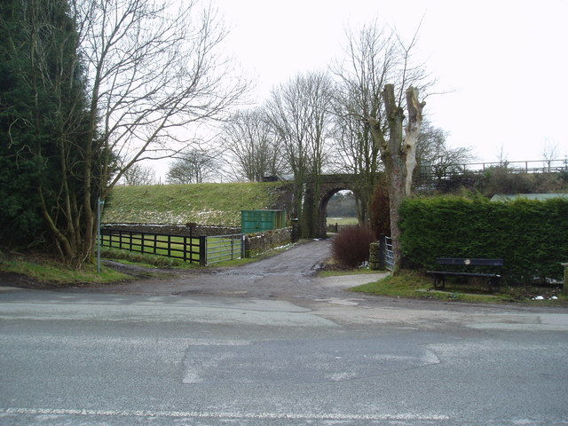 Railway bridge, Salterforth, Yorkshire