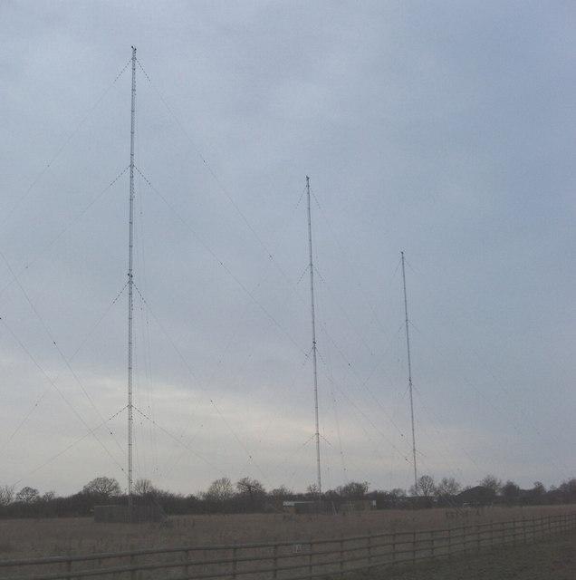Saffron Green transmitter masts