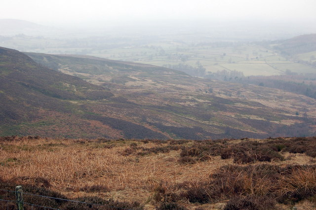 Looking Down towards Pieshaw Corner