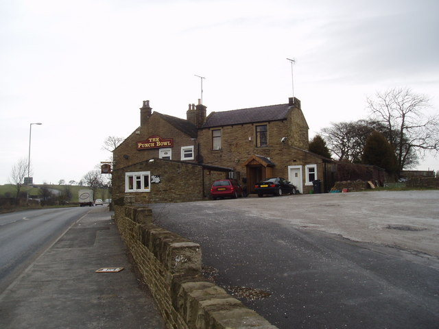 Punch Bowl public house, Earby, Yorkshire