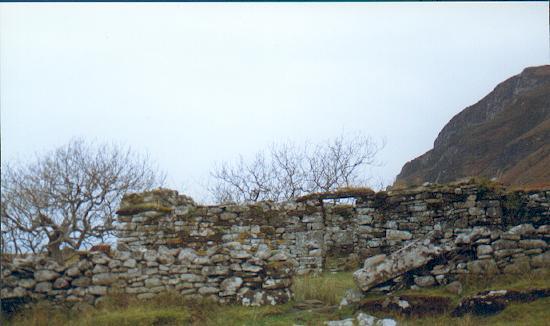 Boreraig cleared village, Skye