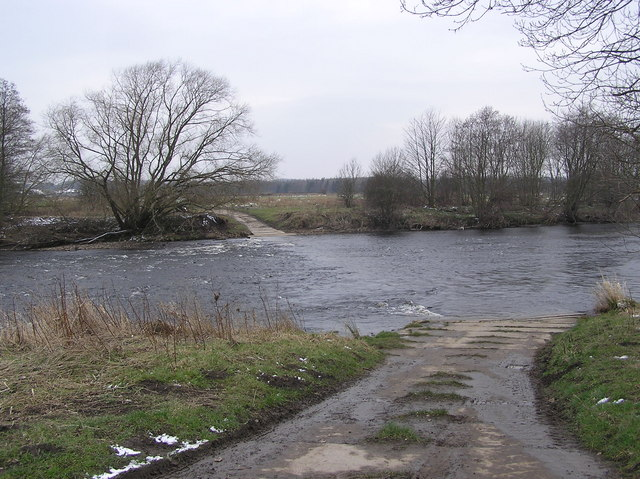 Ford to Swinelair Farm : River Tees