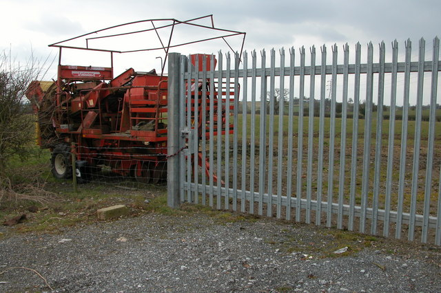 Farm machinery on Cooksey Lodge Farm, Upton Warren