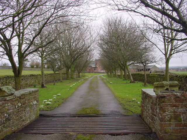 Entrance to Kirkby Thore Hall