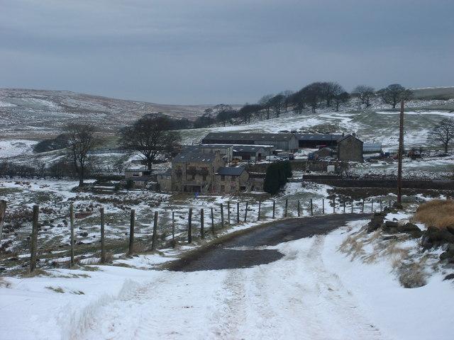 Cadshaw farm on the A666