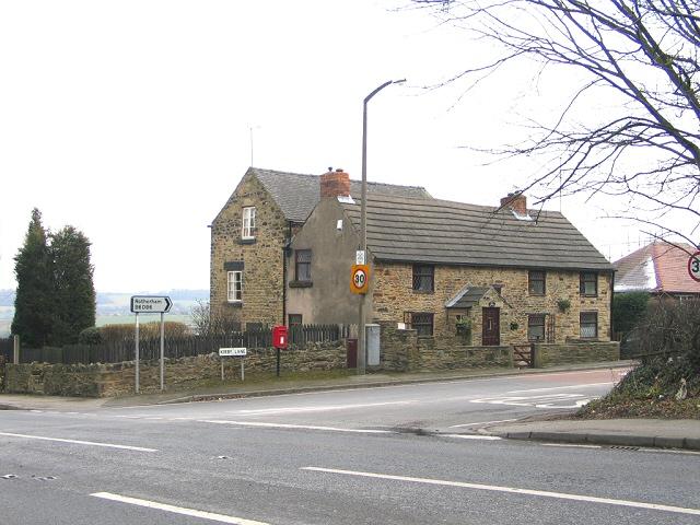 Kirkby Lane Postbox