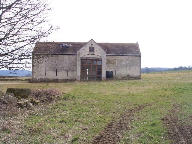 Threshing Barn by Pudgwell Cottage