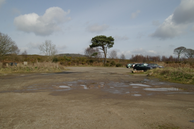 Four Firs car park, Woodbury Common