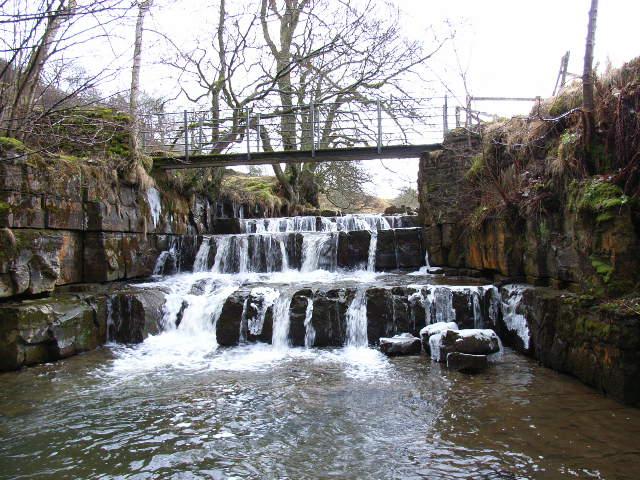 Waterfall, River West Allen