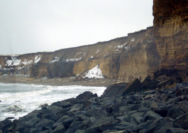 Coastal Erosion on the Coast at Sunderland, 12th March 2006.