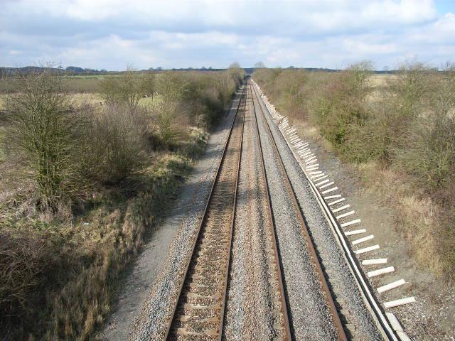 Railway at Dorton