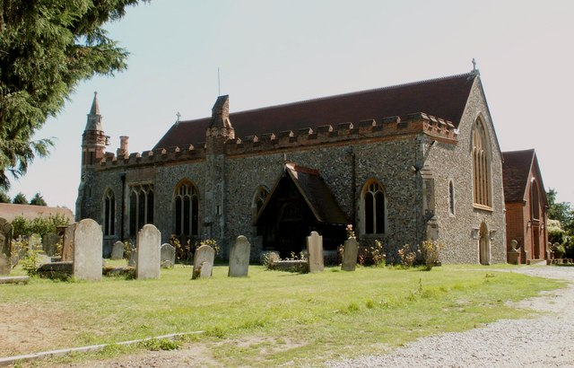 St. Andrew's church, Hatfield Peverel, Essex