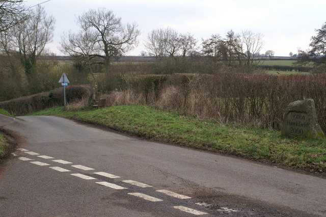 Road Junction by Norton Hawkfield