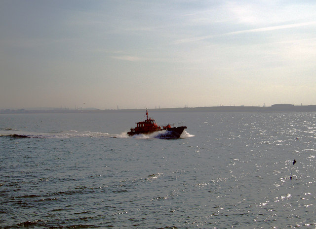Tees Pilot in Hartlepool Bay, 12th September 2005.