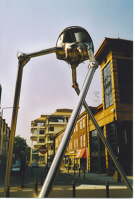 The Martian Woking Colin Smith Geograph Britain