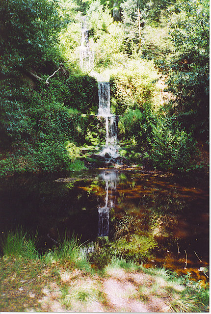 Waterfall, Upper Tilling Valley.