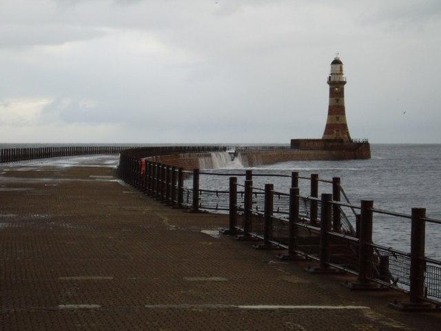 Roker Pier, Sunderland, 23rd January 2005.