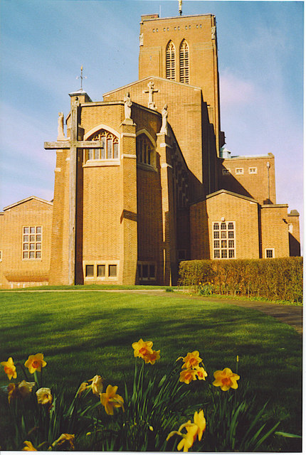 Guildford Cathedral, the East Front.