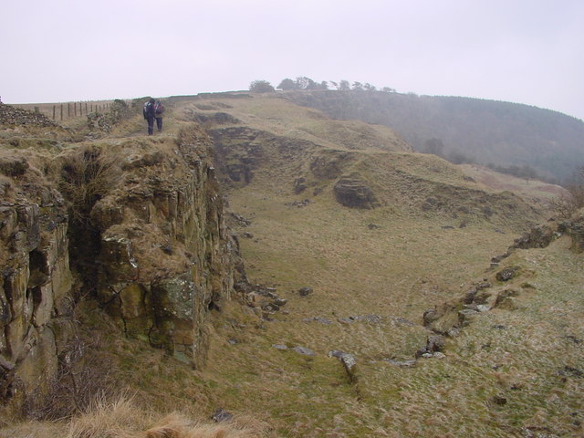 Disused Quarry on Cleveland Way
