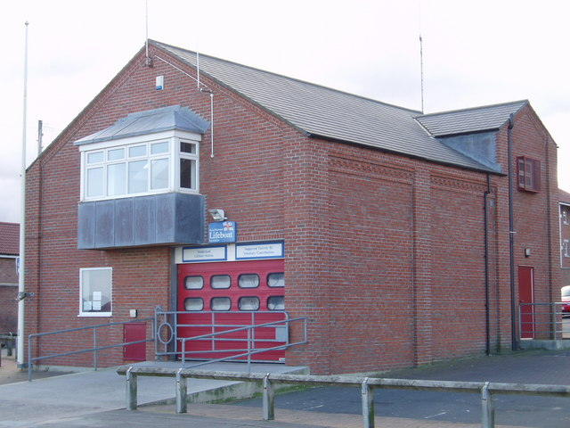 Sunderland Inshore Lifeboat Station, 14th February 2005.
