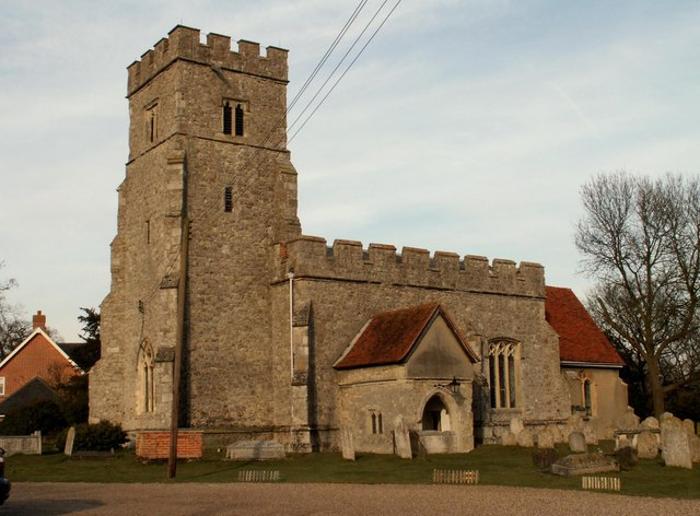 St. Nicholas' church, Tolleshunt D'Arcy, Essex