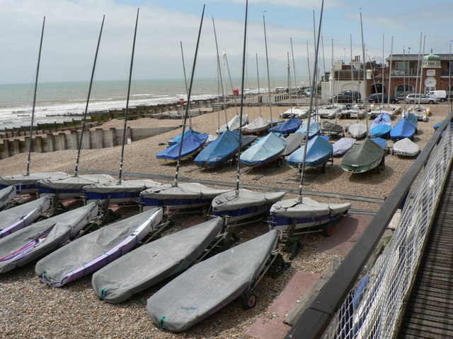 Bexhill Sailing Club, July 2005