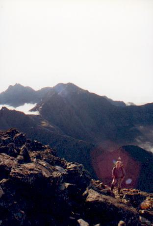 Ascending Bruach na Frithe
