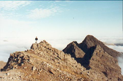 Bruach na Frithe summit ridge