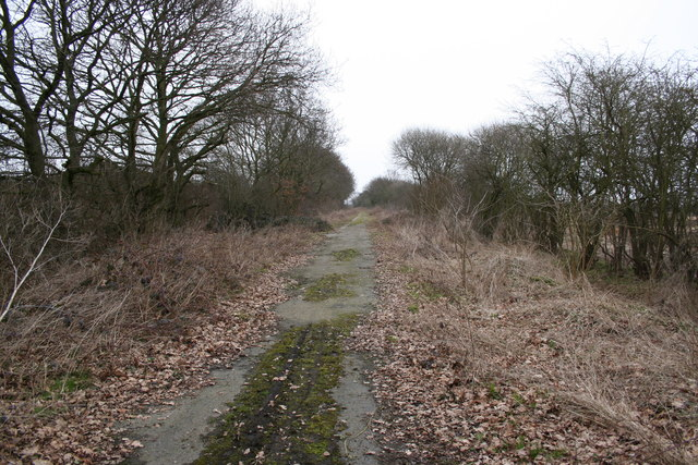 Old Wigsley Road, looking north