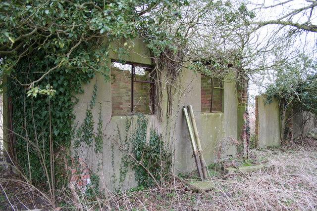 Disused Buildings RAF Wigsley