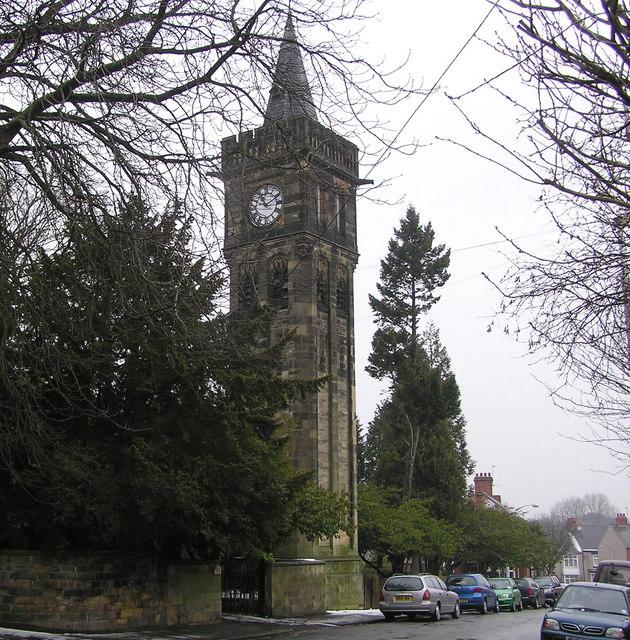 Pierremont clock tower : Tower Road