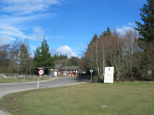 Kilmory Ind Estate entrance by Lochgilphead.