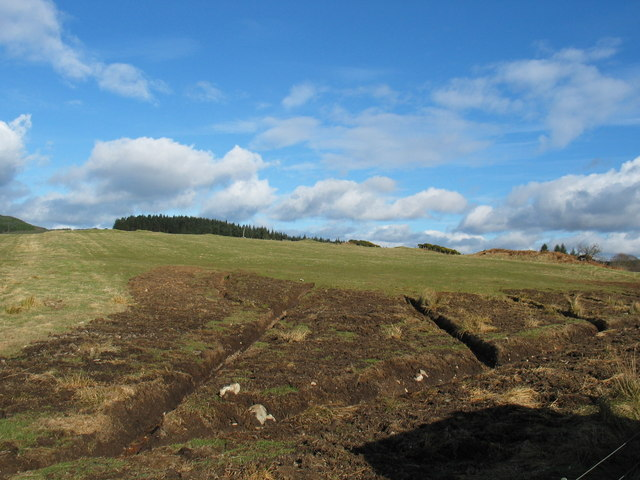 New drainage in fields at Ballimore.