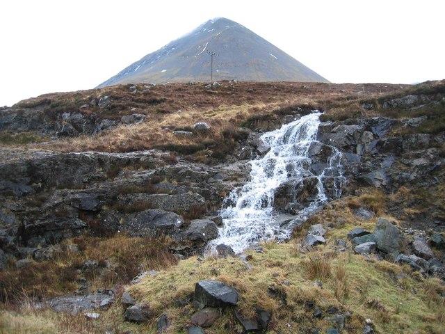 Waterfall near Sligachan