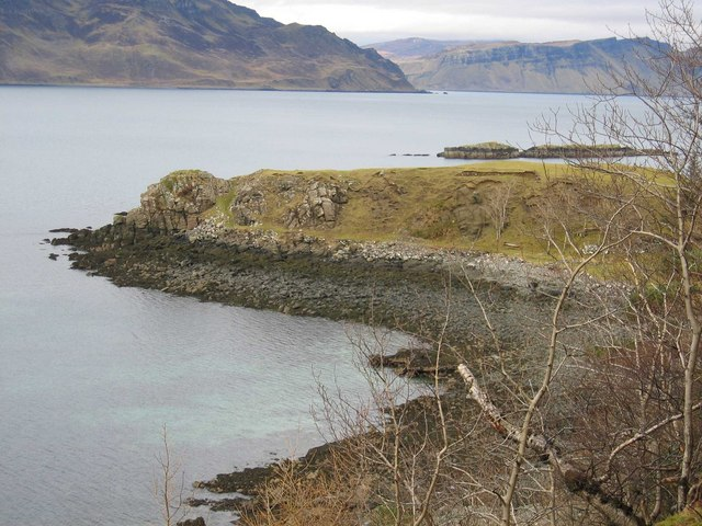 Promontory south of Oskaig