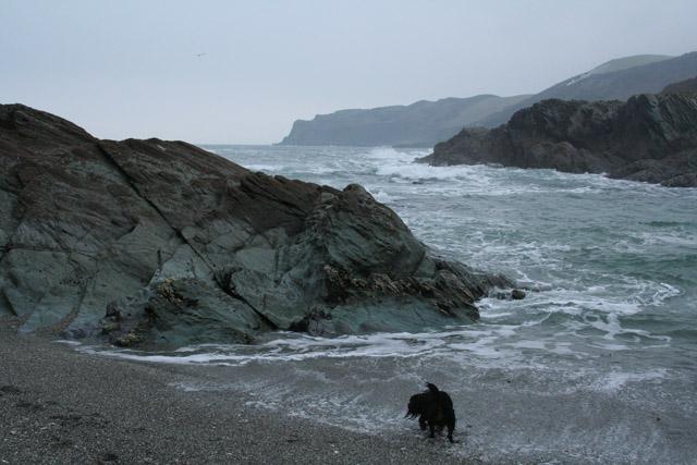 Lansallos: Lansallos Cove